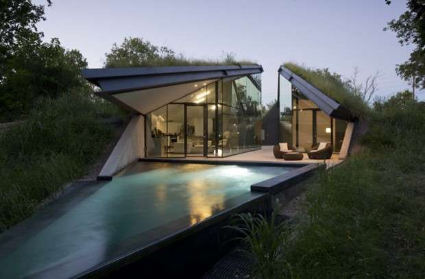 Edgeland House, piscina