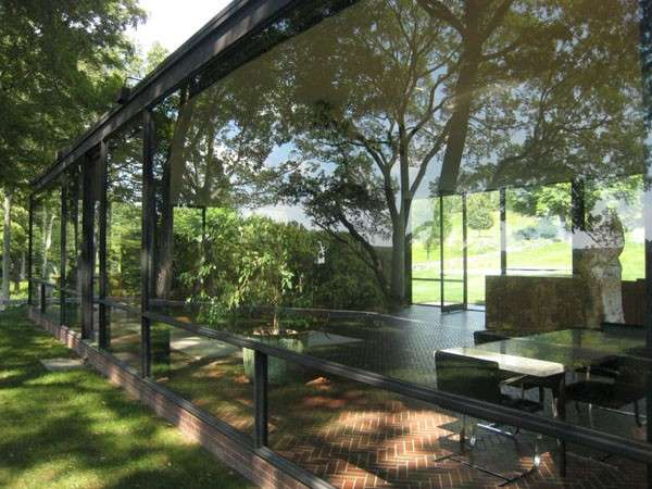 Glass House, le vetrate