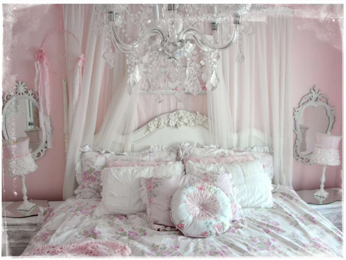 Camera da letto shabby shic (Foto) | Design Mag