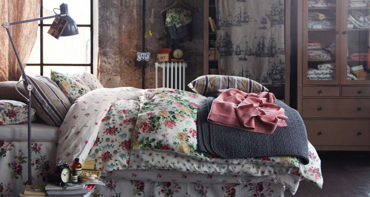 Letto shabby chic