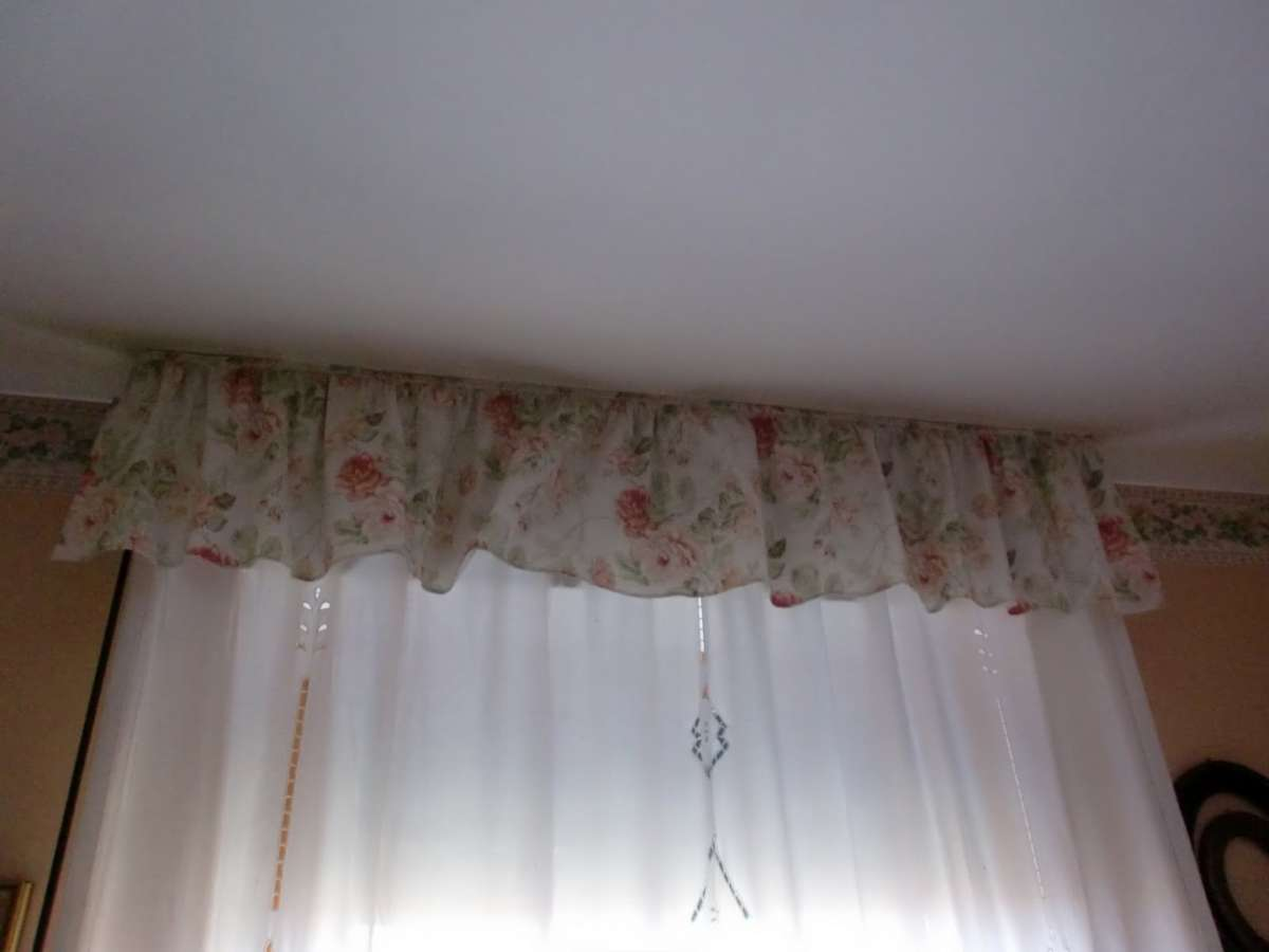 Tenda per camera da letto shabby chic