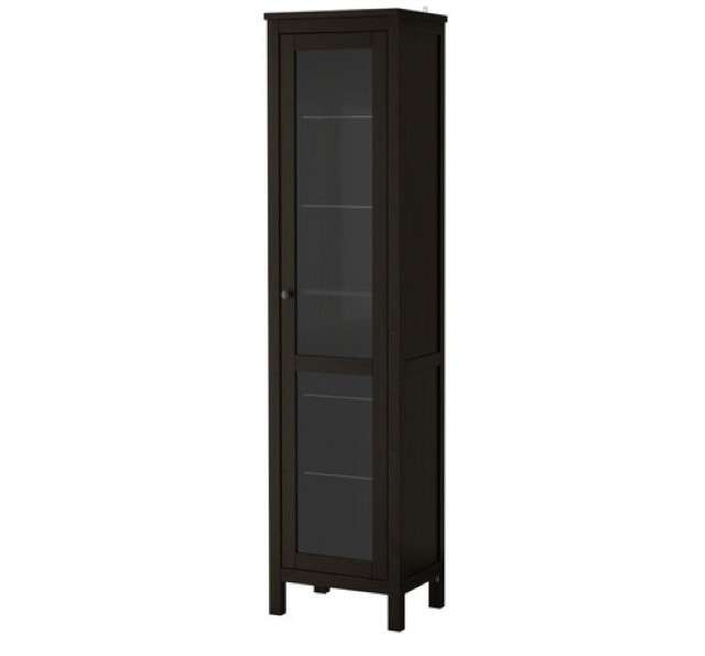 Hemnes marrone-nero