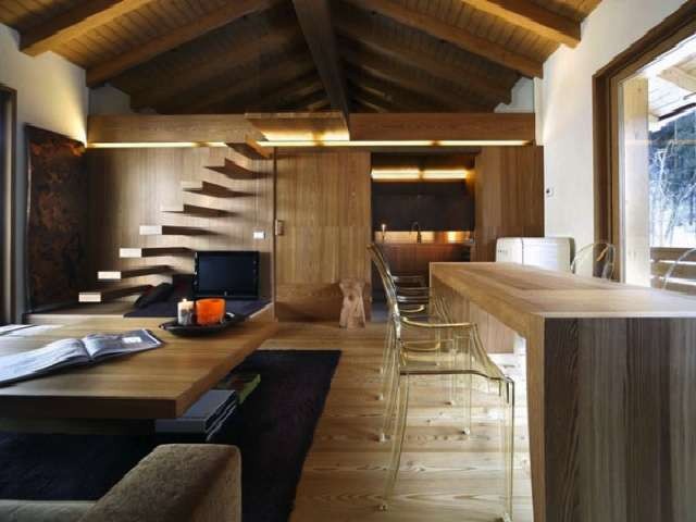 Beautiful Monolocale Interamente In Legno