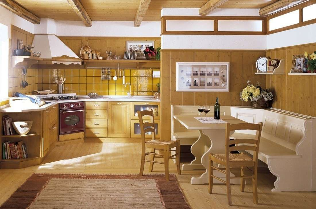 Arredo tirolese foto design mag for Arredo cucina design