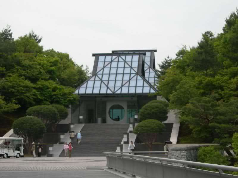 Museo Miho a Kyoto di Ieoh Ming Pei