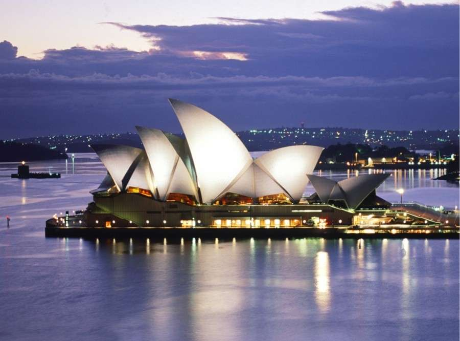 Sydney Opera House di Tom Wright