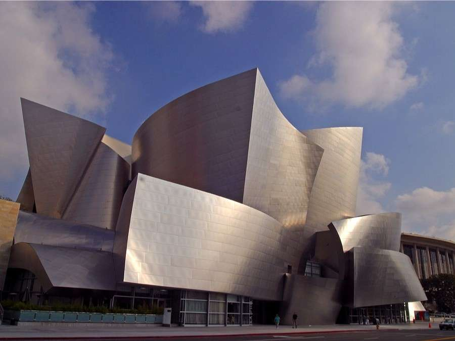 Walt Disney Concert Hall a Los Angeles di Frank Gehry