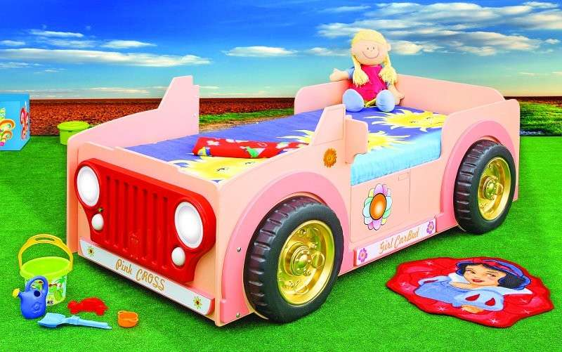 Letto Jeep Pink