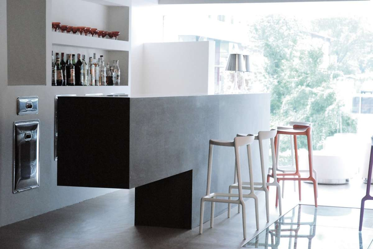 angolo bar in casa foto design mag