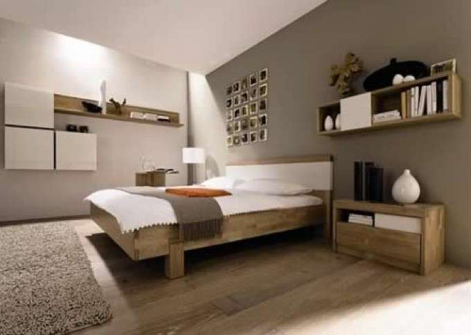Appendere i quadri in camera da letto foto design mag