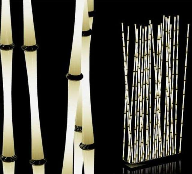 Bamboo luminosi
