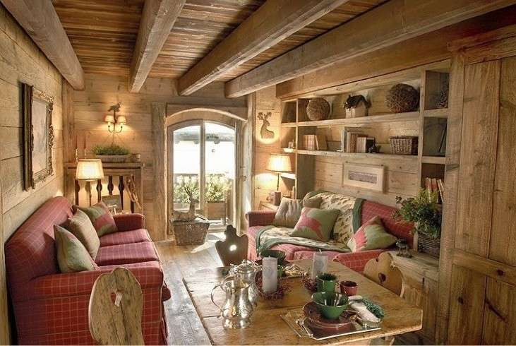 Chalet in stile rustico