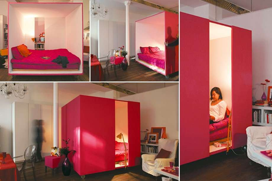 Moveable bedroom