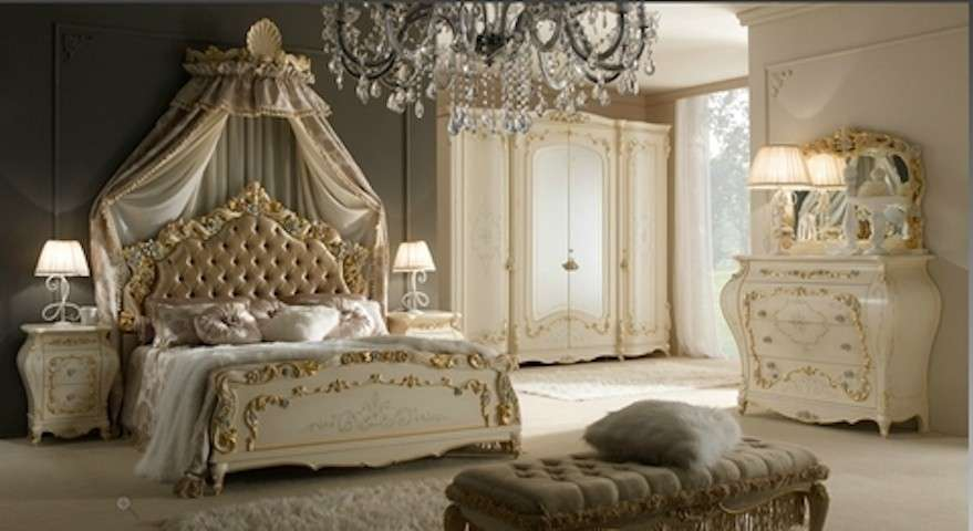 Awesome Camera Da Letto Barocco Veneziano Images - Home Design ...