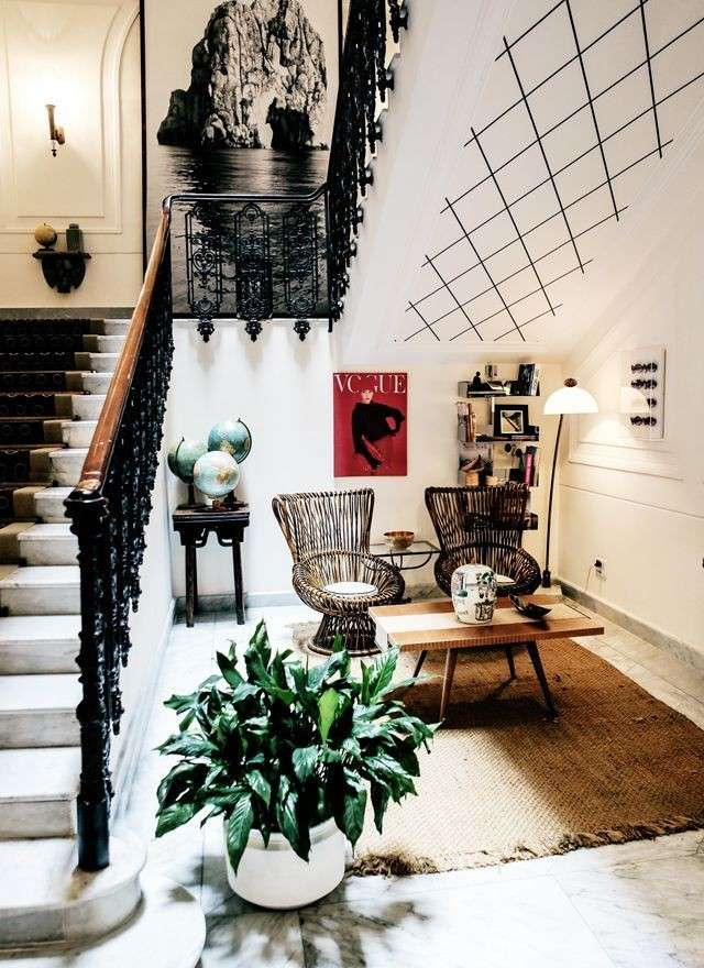 Foyer fashion stile dramatic