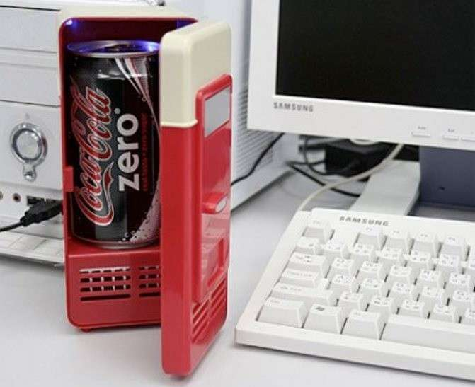 Mini frigo usb