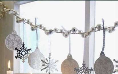 Come decorare le finestre a Natale