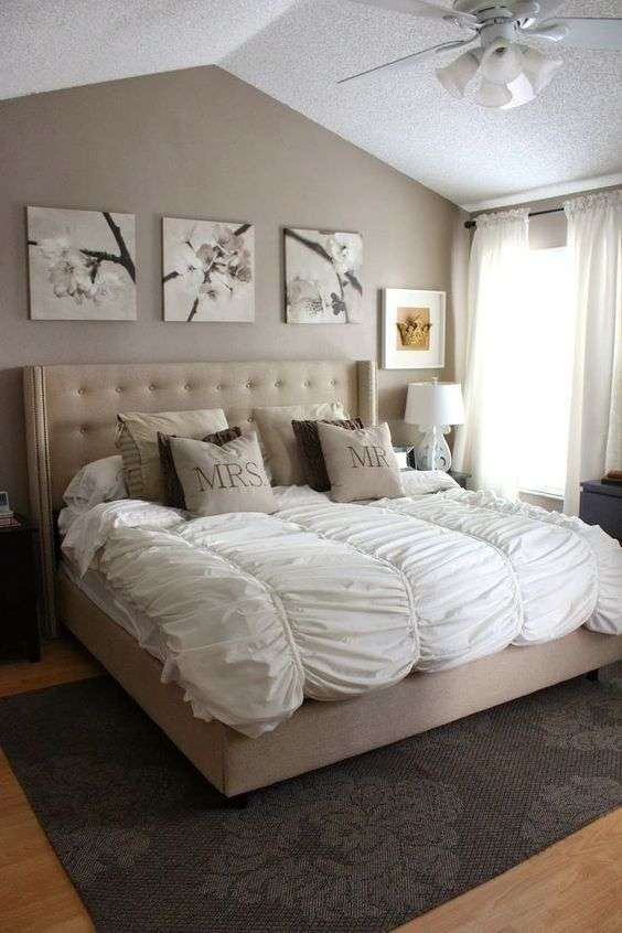 neutral master bedroom ideas idee da letto color sabbia foto 2 21 design mag 16514