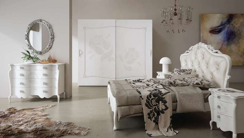New classic in camera da letto l arredamento for Arredamento stile moderno contemporaneo