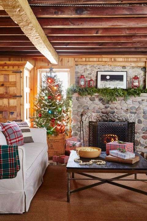 Addobbi Natalizi Tirolesi.Come Decorare Una Casa In Montagna Per Natale Design Mag