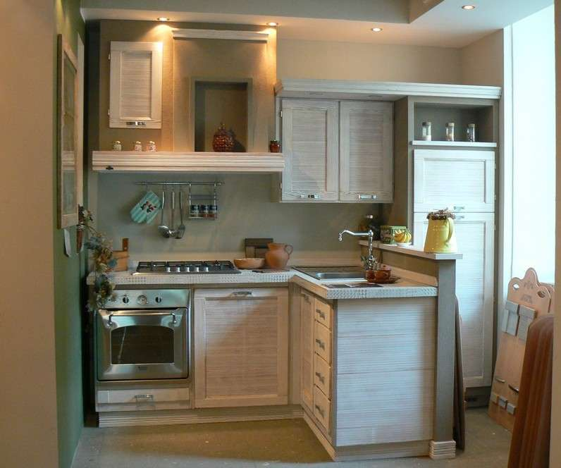 Beautiful Piccola Cucina Angolare Ideas - Ridgewayng.com ...