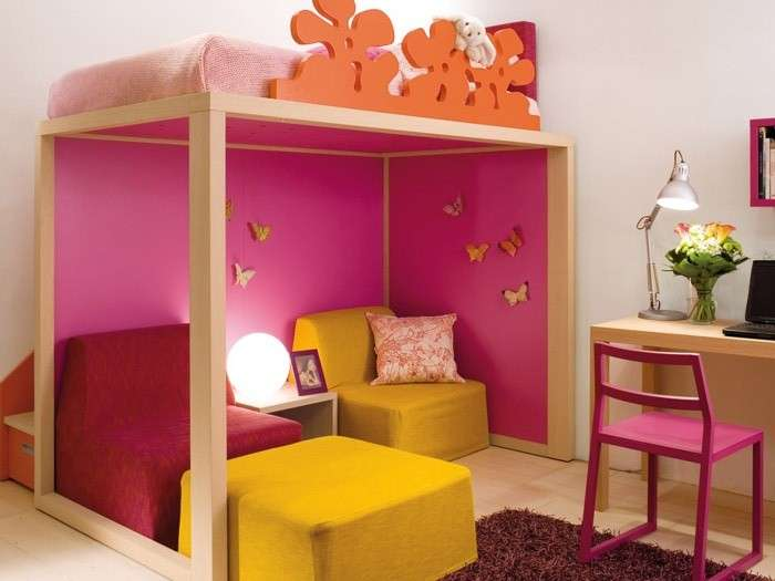 camerette bambini salvaspazio foto design mag. Black Bedroom Furniture Sets. Home Design Ideas
