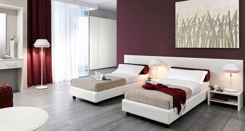 Arredi per bed and breakfast foto design mag for Una casa con due camere da letto