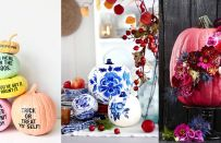 Come decorare le zucche di Halloween in modo stiloso