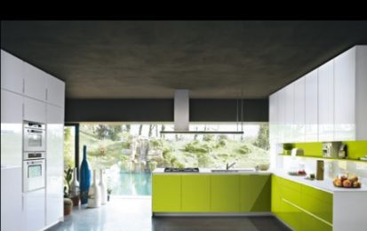 Cucine Snaidero: Orange semplice e colorata