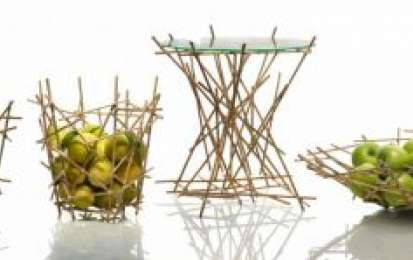 Alessi e fratelli Campana: la Blow up Bamboo collection