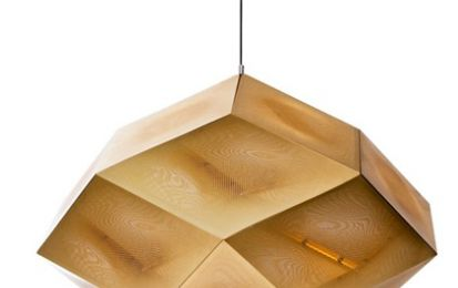 Lampade Etch di Tom Dixon in versione Led al London Design Festival