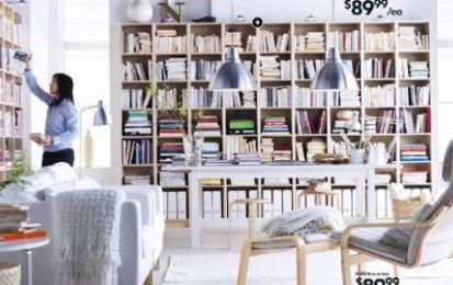 Ikea si prepara all'era digitale e trasforma la libreria Billy