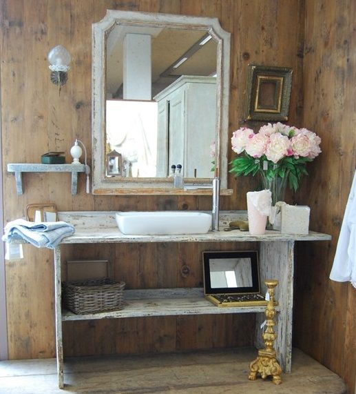 Awesome Arredo Bagno Stile Shabby Images - New Home Design 2018 ...
