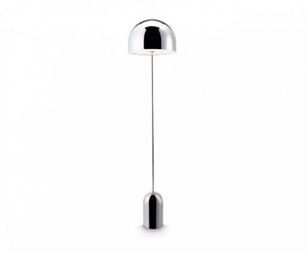Bell Floor Light Chrome