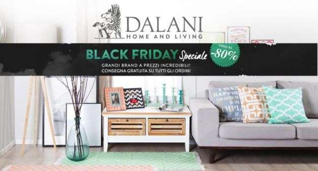 Black Friday 2017 di Dalani