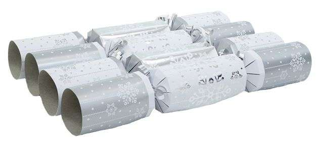Christmas Crackers argento