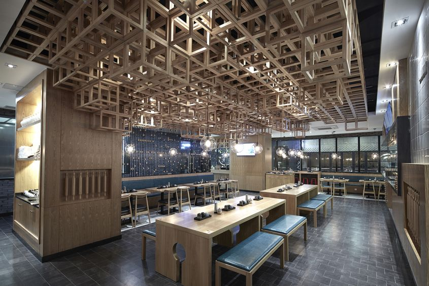 Dacong's Noodle House a Nanjing, di The Swimming Pool Studio