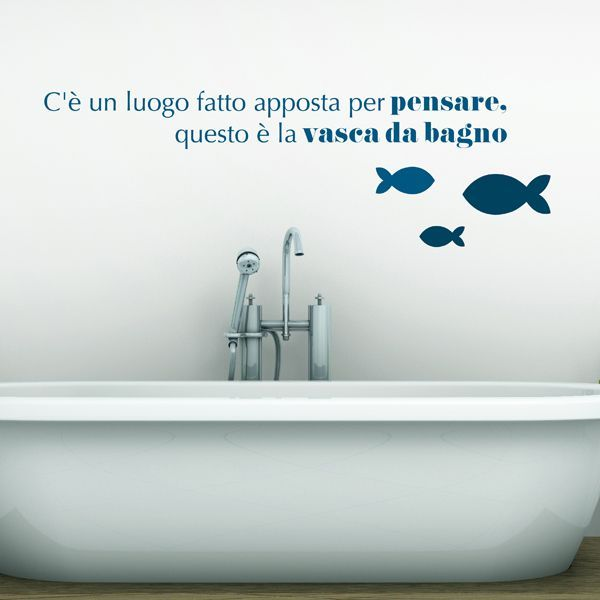 Come decorare le piastrelle del bagno tante idee creative for Stickers per mattonelle bagno