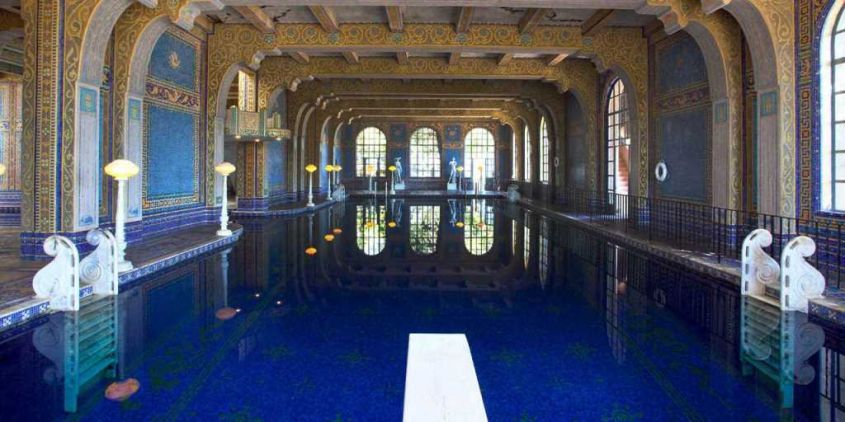 Hearst castle piscina