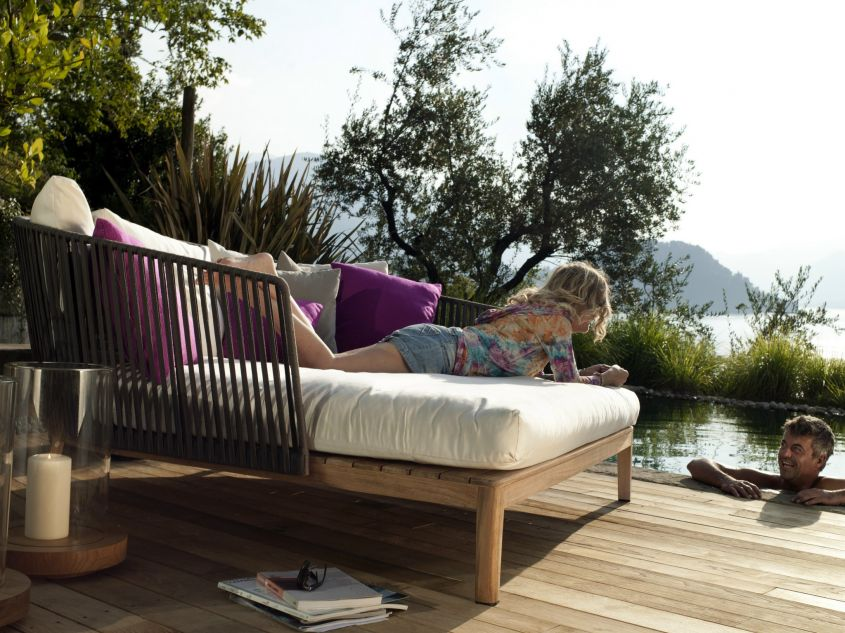 Arredi da esterno in teak idee pregiate per l 39 outdoor for Mobili outdoor