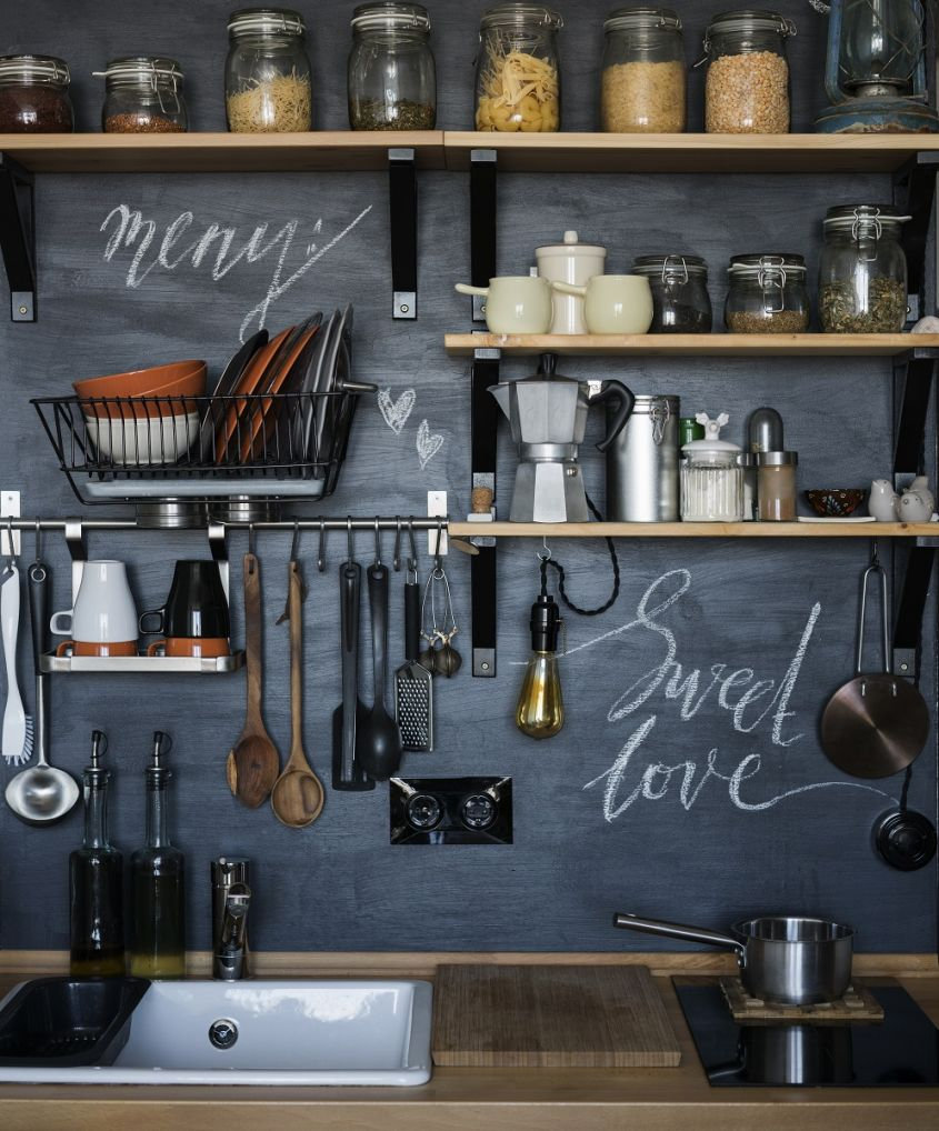The,Design,Of,The,Modern,Home,Kitchen,In,The,Loft style