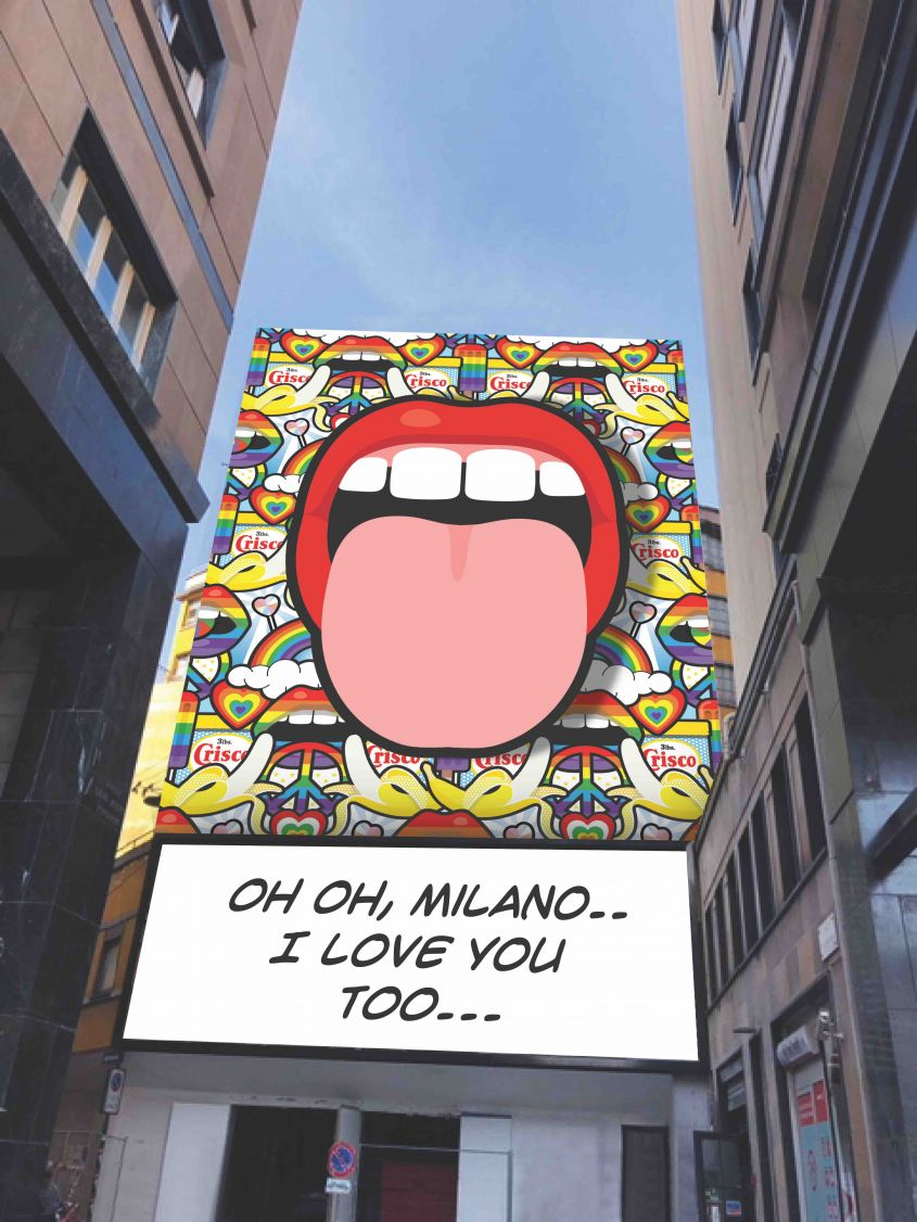 Oh oh Milano I love you too