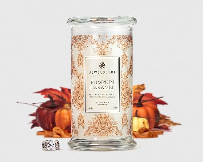 Pumpkin Caramel Candle di JewelScent