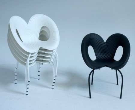 Moroso: sedia Ripple Chair di Ron Arad