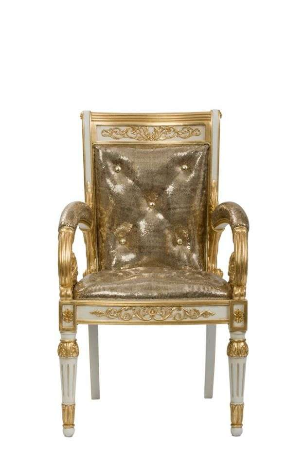 Versace Home_Vanitas Chair_front
