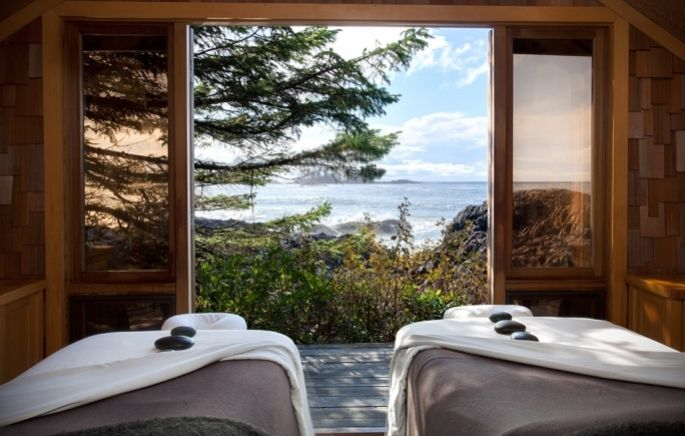 Hotel design natura Wickaninnish Inn in Canada