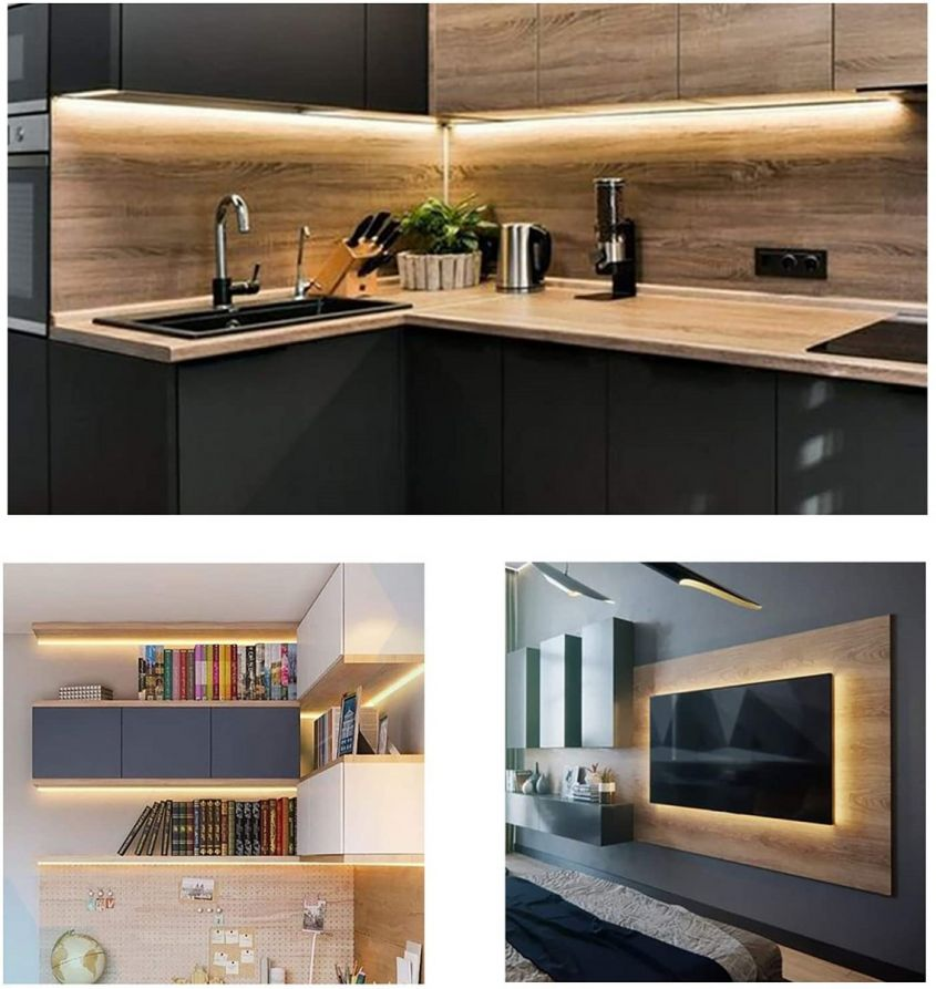 Wobsion Luci led cucina sottopensile,