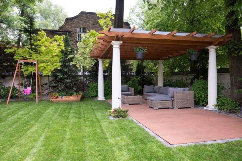ancorare gazebo terreno