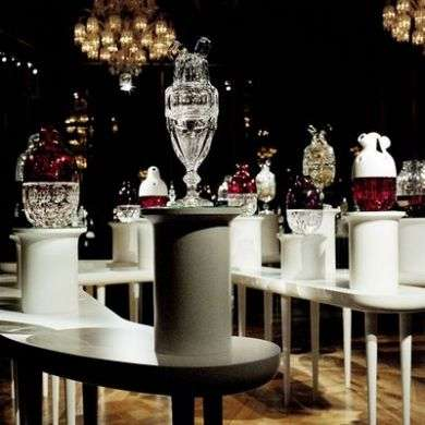 Cristalli Baccarat in mostra a Roma