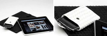 Accessori iPad e iPhone: custodie Bottega Veneta